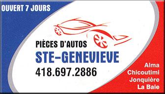 Piece d'auto Ste-Genevieve