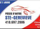 Exposition Pièces d'auto Ste-Geneviève
